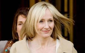 J.K. Rowling. Photo: EPA